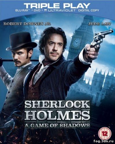 Шерлок Холмс: Игра теней / Sherlock Holmes: A Game of Shadows (2011) DVDRip