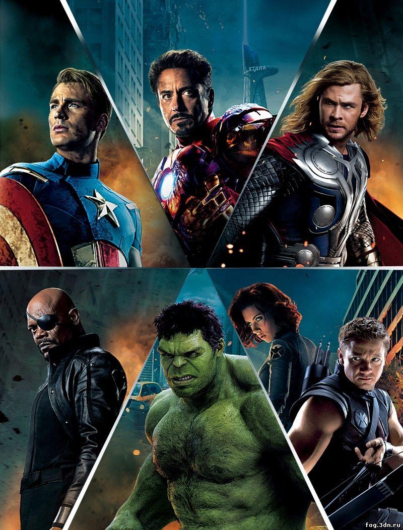 Мстители / The Avengers (2012) DVDRip