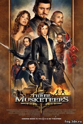 Мушкетеры / The Three Musketeers (2011) DVDRip | Звук с TS